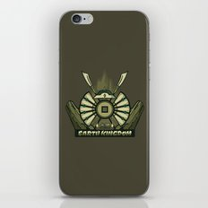 Avatar Nations Series - Earth Kingdom iPhone & iPod Skin