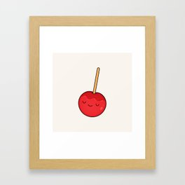 Candy Apple Framed Art Print