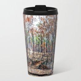 Fire damaged forest Travel Mug
