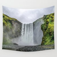 iceland Wall Tapestries featuring Intrepid Iceland by Alex Tonetti Photography