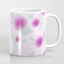 Pink Rose Garden Coffee Mug