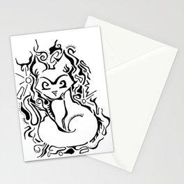 Fox Vector Illustration Stationery Cards