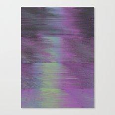 Glitch Haze #1 Canvas Print