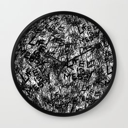 Life is really messy Wall Clock