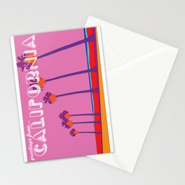 Greetings from California Stationery Cards