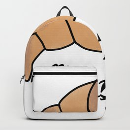Mon petit croissant Cute Coffee Dates Cute Viennoiserie Lover Gift Croissant Lover Pastry Gift Cute Backpack