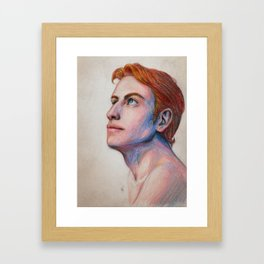 Rand al'Thor sketch Framed Art Print