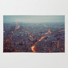 Blue Hour in Paris. Rug