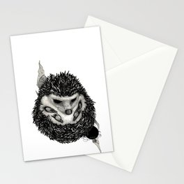 H3D93H09 (Hedgehog) Stationery Cards