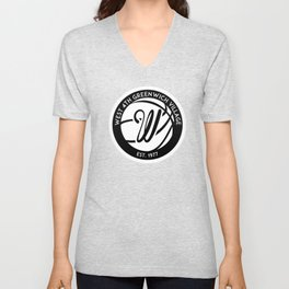 """West 4th """"The Cage"""", Greenwich Village, New York City Basketball Unisex V-Neck"""