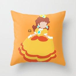 Princess Daisy Deluxe Throw Pillow