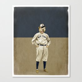 Into the Bullpen Canvas Print