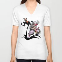 jack daniels V-neck T-shirts featuring Jack by milanova