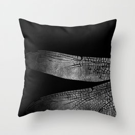 the dragonfly's wings 03 Throw Pillow
