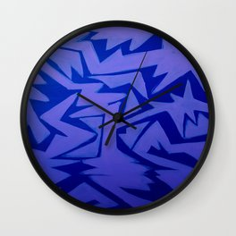 Electric Pop Wall Clock