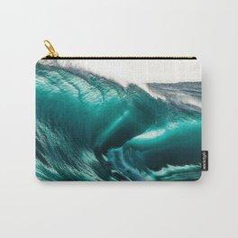 Crystal Clear High Surf - Scarborough Beach, Narragansett, Rhode Island Carry-All Pouch
