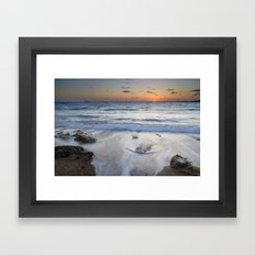 Atlantic Ocean. Framed Art Print