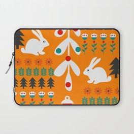 Sweet Christmas bunnies Laptop Sleeve