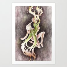 If you can't be my wife, you shall be my tree (Apollo & Daphne) Art Print