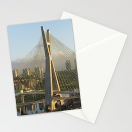 Sao Paulo, Brazil - Octavio Frias de Oliveira bridge Stationery Cards