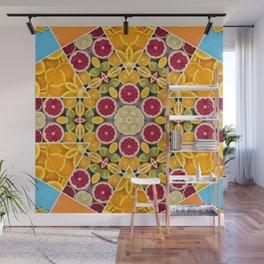 splash of citrus sangria Wall Mural