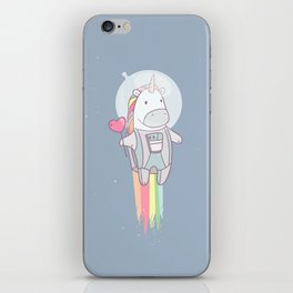 Space Unicorn! iPhone Skin
