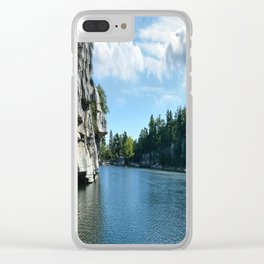 Mohonk Lake Clear iPhone Case