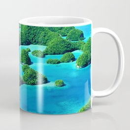 Glimpses of Heaven: Palau 70 Islands In Micronesia Coffee Mug