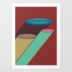 Frisbee Art Print