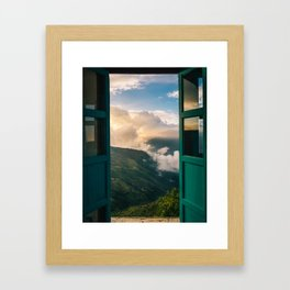 Window of Opportunity Framed Art Print