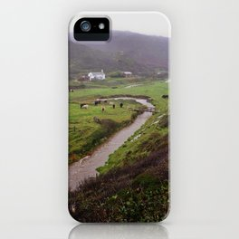RURAL COTTAGE AT MISTY DUCKPOOL CORNWALL iPhone Case
