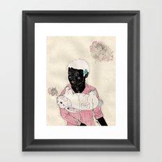 Lucky-Girly you Framed Art Print