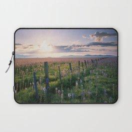 Camas Marsh Sunrise Laptop Sleeve