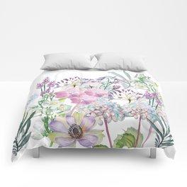 Spring Flowers Bouquet Comforters