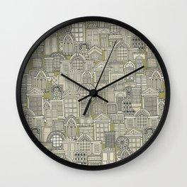 windows green Wall Clock