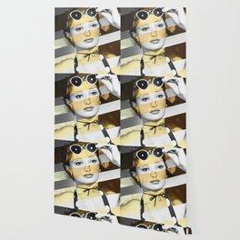 Manet's Olympia & Audrey Hepburn Wallpaper