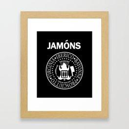Jamons Framed Art Print