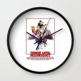 The Office - Threat Level Midnight Wall Clock