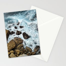 to the cliffs, to the sea Stationery Cards