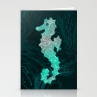 seahorse Stationery Cards featuring SEAHORSE by Catspaws