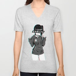 RELIEF - SAD JAPANESE ANIME AESTHETIC Unisex V-Neck