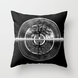 Returning To Silence Throw Pillow