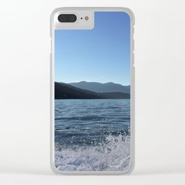 Ocean Calm IV Clear iPhone Case