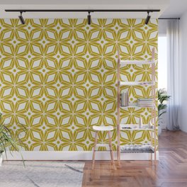 Starburst - Gold Wall Mural