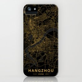 Hangzhou, China - Gold iPhone Case