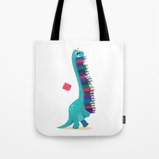 BOOK DINOSAURS 01 Tote Bag