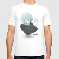 Mt. Everest - The Surreal North Face MEDIUM White Mens Fitted Tee