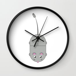 Computer Mouse Wall Clock