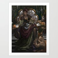 madonna Art Prints featuring Madonna  by Anastasia Magloire