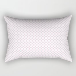 Ballet Slipper Polka Dots Rectangular Pillow